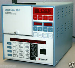 Kratos Analytical Spectroflow 783 Programmable Absorbance Detector 9000-7831