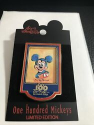 Disney Dlr One Hundred Mickeys Pin Series Mm 022 Blue Mickey Eric Robison Pin