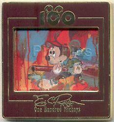 Disney Dlr One Hundred Mickeys Pin Series Mm 023 Big Game Eric Robison Pin