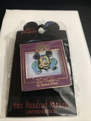 Disney Dlr One Hundred Mickeys Pin Series Mm 044 Thinker Eric Robison Pin