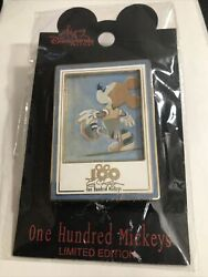 Disney Dlr One Hundred Mickeys Series Mm 085 Into The Clouds Eric Robison Pin