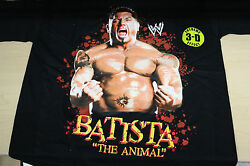 Wwe Superstar The Animal Dave Batista Youth Wrestling T-shirts Sizes S-xl