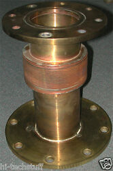 Brass Bellows Cf Flange 9 And 11inch, 8 Bolt Holes, O-ring Groove