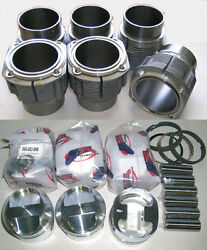 Porsche 911 84mm Je Piston And Cylinder Kit 2.2 And 2.4