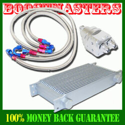 Universal Oil Cooler Full Kits Oil Lines And Fittings Brand New Emusa