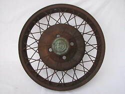 1929 Durant 19 Wire Wheel And Cap No Lock Ring 1926 1927 1928 1930 1931 1931 Star