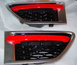 Land Rover Range Rover Sport OEM Red Side Vent Pair 2013 Style Fits 2010-2013