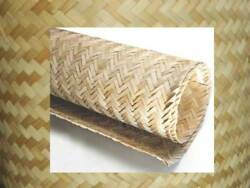 Bamboo Weave Matting Roll-4and039 X 8and039 -wallpaper/ Wainscoting/ceiling Cover