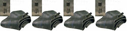 Set Of 4 Lawn Mower Tire Inner Tubes Two 15x6.00-6 Fronts And Two 18x8.50-8 Rears