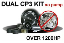 Industrial Injection Dual Cp3 Kit Without Pump Fits 07.5-11 Dodge Cummins 6.7l