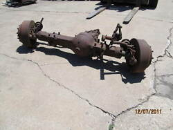 F2090 Rockwell Front Driving Steer Axle 8.43 Ratio Used