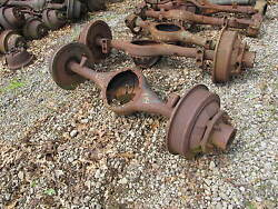 Chevy G506 4x4 Rear Axle Housing Assembly Used G-506 Military Wwii