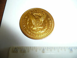 Vintage Token/slug = Readers Digest 100,000.00 Lucky Sweepstakes Coin