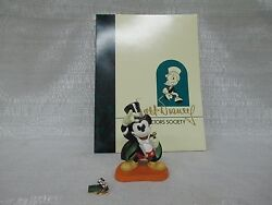 Wdcc Walt Disney Classics Collection Mickey Mouse On With The Show 1997 Club Kit