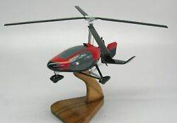 Cloud Dancer Ii Gyro Helicopter Wood Model Replica Small Free Shipping