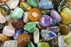 Tumbled Brazilian Stones - Extra Large - And039aand039 Grade - 18 Full Pounds