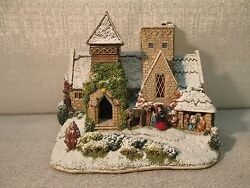 Lilliput Lane Little Donkey At All Saints 2008 Christmas Special Edition L3085