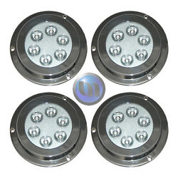 4 X 18w Underwater Led Boat Lights