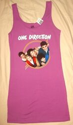 1d One Direction Juniors Tank Dress Beach Cover All Licensed Merchandise