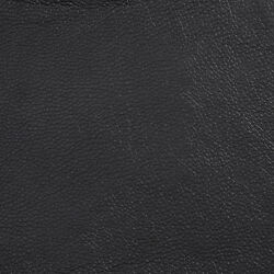 G506 Black Upholstery Grade Recycled Leather Bonded Leather By The Yard