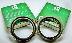 2 Cr 19763 Military D61118 Nos Front Axle Wheel Seal 2 Shaft 2.627 Od. .25 W