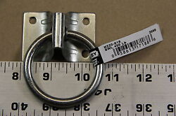 Hitching Lashing Ring With Plate Stanley National Hardware Lot Of 2 Each