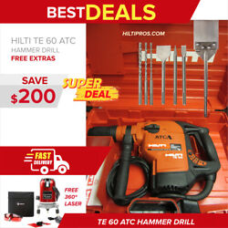 Hilti Te 60 Atc Hammer Drill, In Mint Condition, Preowned, Fast Shipping