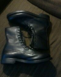 Vintage Armortred 10-69 Vietnam Jungle Boots. Zip And Lace. 10ee. Must See