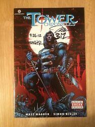 Signed X3 The Tower Chronicles Comic Signed Wagner, Bisley, Jim Lee Sdcc + Pics