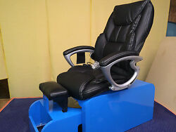 Pedicure Chair With Massage No Plumbing Needed And Footsie Tub +10 Liners