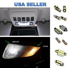 10pc LED Interior Lights Package Kit For Mercedes Benz W164 M-Class