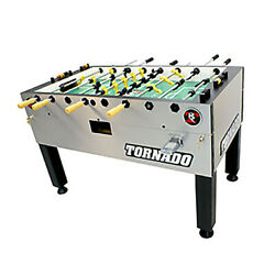 Valley Dynamo Tornado T-3000 Foosball Table Game - Coin Op -single Goalie