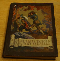 Rip Van Winkle By Irving 1921 Color Wyeth Illustrations