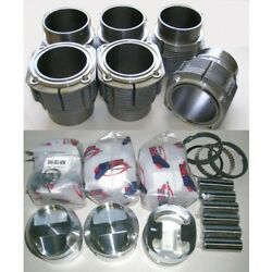 Porsche 911 High Compression 86mm Je Piston And Biral Cylinder Kit 2.2 And 2.4