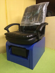 Pedicure Chair And Footsie Bath Tub No Plumbing + 10 Liners