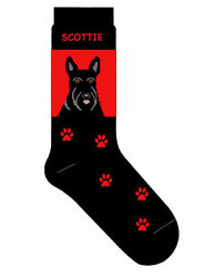 Scottish Terrier Crew Socks Unisex