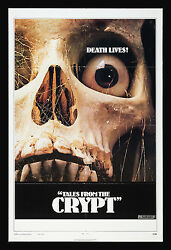 Tales From The Crypt Cinemasterpieces Skull Scary Horror Movie Poster 1972