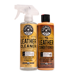 Chemical Guys Spi_109_16 - Leather Cleaner And Conditioner Leather Care Kit 16 Oz