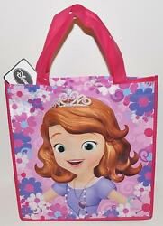 DISNEY CHRISTMAS TOTE GIRLS SOFIA THE FIRST SHOPPING TOTE REUSABLE GIFT BAG STUF $3.58
