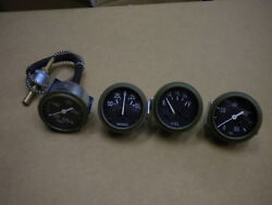 Jeep Willys Mb Ford Gpw Cj2a Cj3a The Best Reproduction Gauge Set G-503