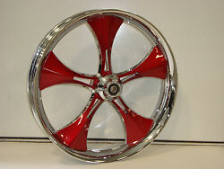 21 Front Wheel Package Harley Touring Outlaw True Dual Finish Wheel