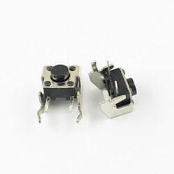 1000pcs Momentary Tactile Tact Push Button Switch 6x6x5mm Right Angle 2 Pin
