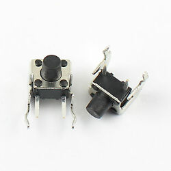 1000pcs Momentary Tactile Tact Push Button Switch 6x6x7mm Right Angle 2 Pin
