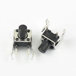 1000pcs Momentary Tactile Tact Push Button Switch 6x6x8mm Right Angle 2 Pin