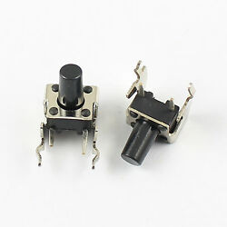 1000pcs Momentary Tactile Tact Push Button Switch 6x6x9mm Right Angle 2 Pin