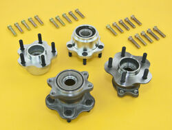 Front And Rear 5-lug Conversion Hub W/ Extended Studs For Silvia 89-94 S13