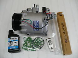 A/c Compressor Kit For 2008-2011 Civic Model Si 2.0l 2-door Coupeand039s Only