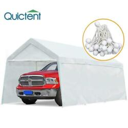 Quictent 10x20ft Heavy Duty Carport Garage Shed Outdoor Canopy Car Shelter Tent