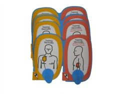 Physio Control Lifepak Cr Plus Training System Electrodes, Adult 5 Pairs