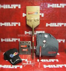 Hilti Floor Scrapers Sds-max, L@@k,free Blade T-shirt,safety Glass,fast Ship
